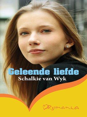 cover image of Geleende liefde