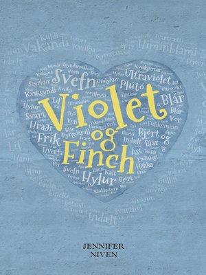 cover image of Violet og Finch