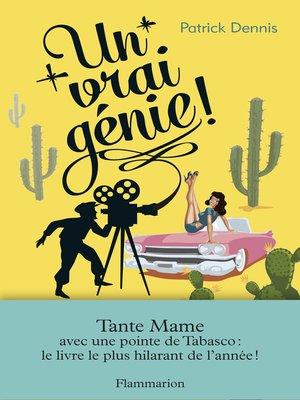 cover image of Un vrai génie !