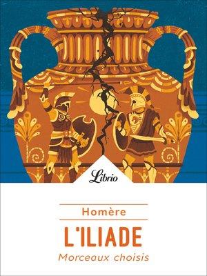 cover image of L'Iliade