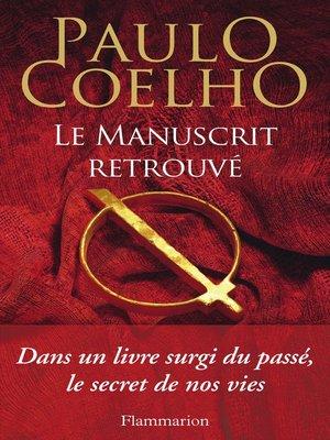 cover image of Le manuscrit retrouvé