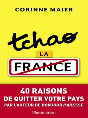 cover image of Tchao la France