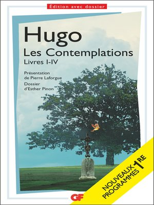 cover image of Les Contemplations
