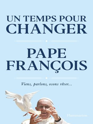 cover image of Un temps pour changer