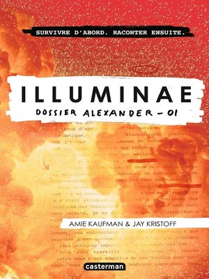 cover image of Illuminae (Tome 1)--Dossier Alexander -01