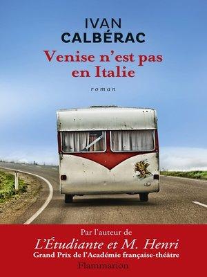 cover image of Venise n'est pas en Italie