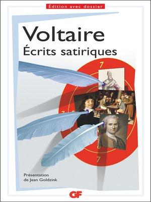 cover image of Écrits satiriques
