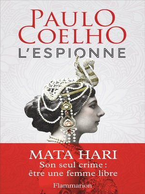 cover image of L'espionne