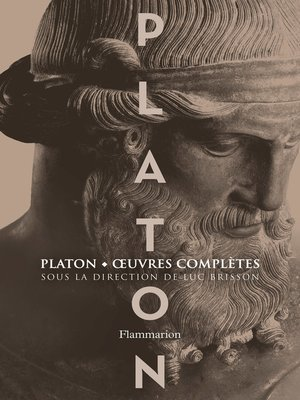 cover image of Platon, Œuvres complètes