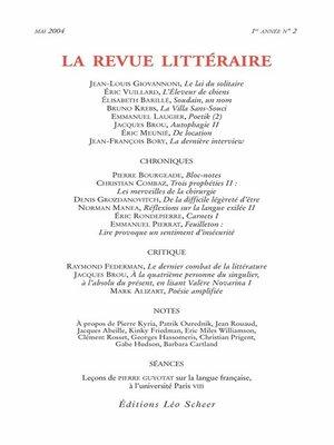 cover image of La Revue Littéraire N°2