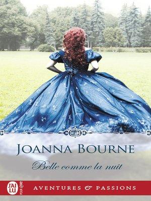 cover image of Belle comme la nuit