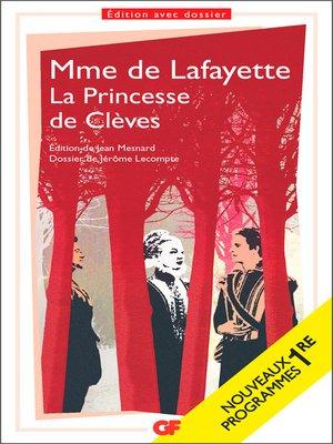 cover image of La Princesse de Clèves