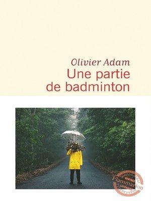 cover image of Une partie de badminton