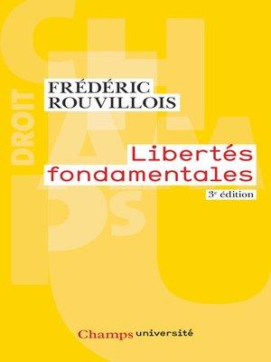 cover image of Libertés fondamentales