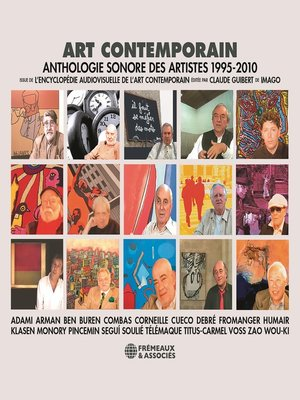 cover image of Art contemporain. Anthologie sonore des artistes (1995-2010)