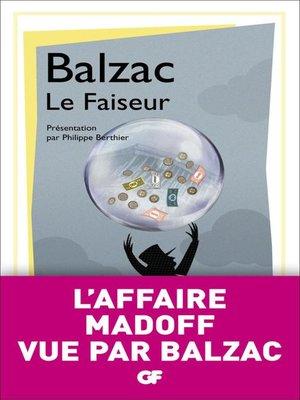 cover image of Le Faiseur