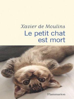 cover image of Le petit chat est mort