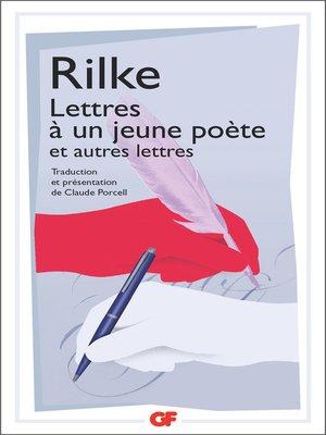 cover image of Lettres à un jeune poète et autres lettres