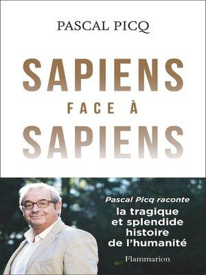 cover image of Sapiens face à Sapiens