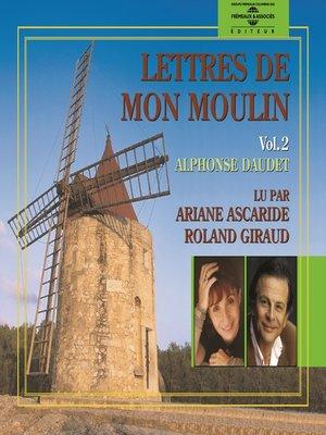 cover image of Lettres de mon moulin (Volume 2)