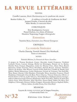 cover image of La Revue Littéraire N°32