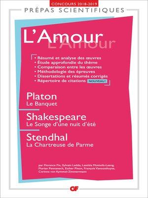 cover image of L'Amour--Prépas scientifiques