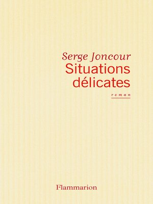 cover image of Situations délicates