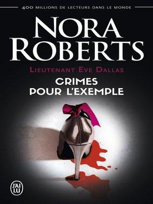 cover image of Lieutenant Eve Dallas (Tome 2)--Crimes pour l'exemple