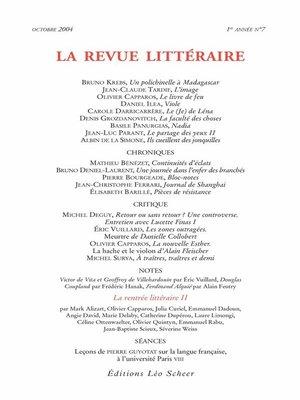 cover image of La Revue Littéraire N°7