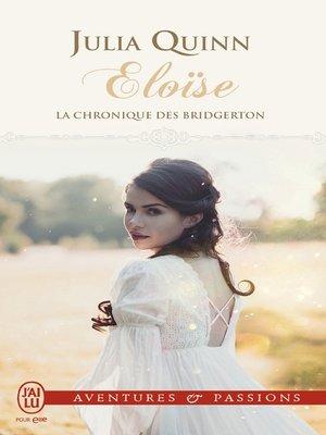 cover image of La chronique des Bridgerton (Tome 5)--Eloïse