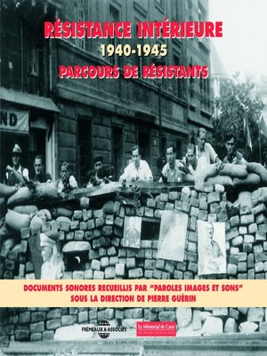 cover image of Résistance intérieure 1940-1945 / Parcours de résistants