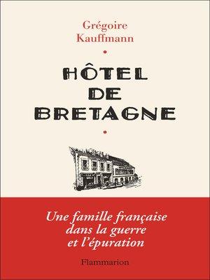 cover image of Hôtel de Bretagne