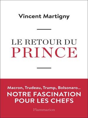 cover image of Le retour du Prince