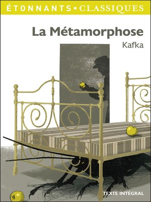 cover image of La Métamorphose