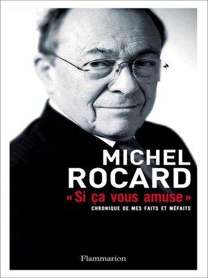 cover image of Si ça vous amuse