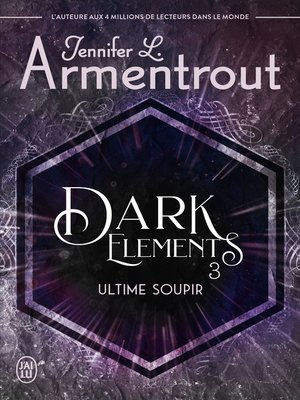 cover image of Dark Elements (Tome 3)--Ultime soupir