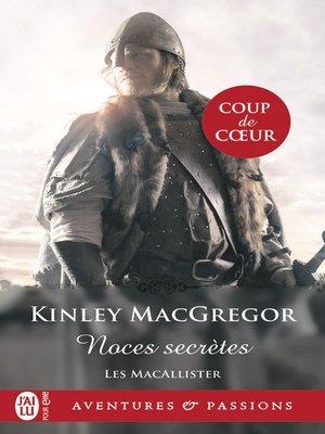 cover image of Les MacAllister (Tome 1)--Noces secrètes
