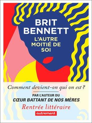 cover image of L'Autre Moitié de soi