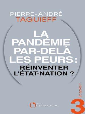 cover image of Et après? #3 La Pandémie par-delà les peurs