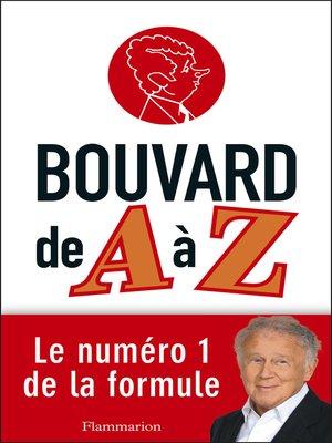 cover image of Bouvard de a à Z