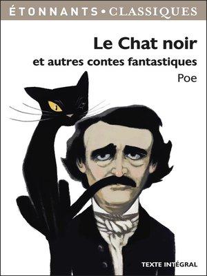 cover image of Le chat noir et autres contes fantastiques