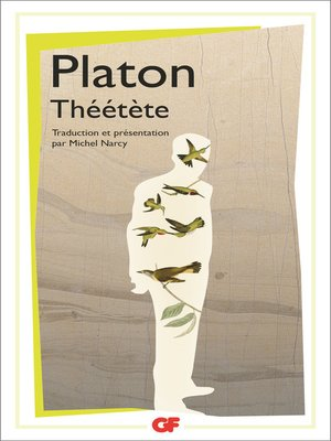 cover image of Théétète