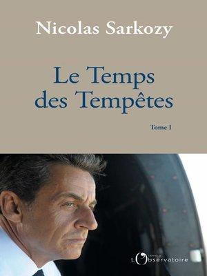 cover image of Le Temps des Tempêtes