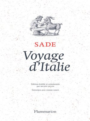 cover image of Voyage d'Italie