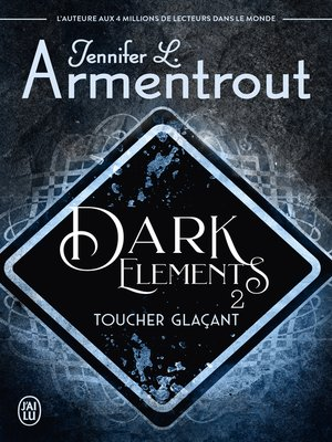 cover image of Dark Elements (Tome 2)--Toucher glaçant
