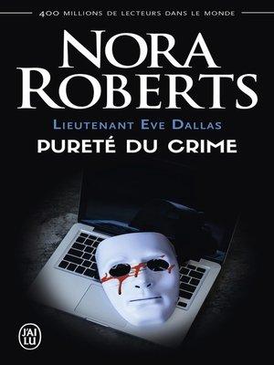 cover image of Lieutenant Eve Dallas (Tome 15)--Pureté du crime