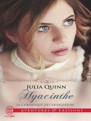 cover image of La chronique des Bridgerton (Tome 7)--Hyacinthe