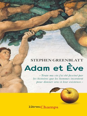 cover image of Adam et Ève. L'histoire sans fin de nos origines