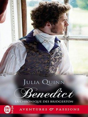 cover image of La chronique des Bridgerton (Tome 3)--Benedict