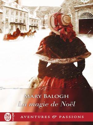 cover image of La magie de Noël